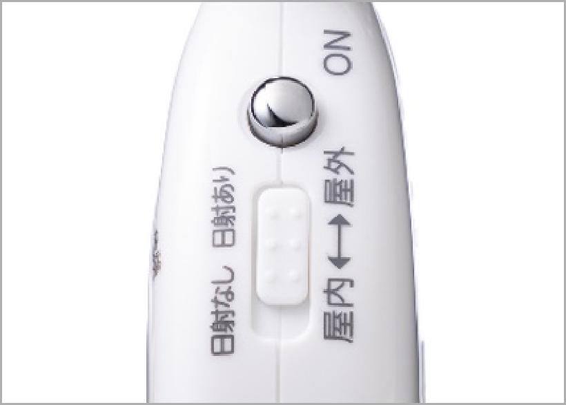 携帯型黒球付熱中症計